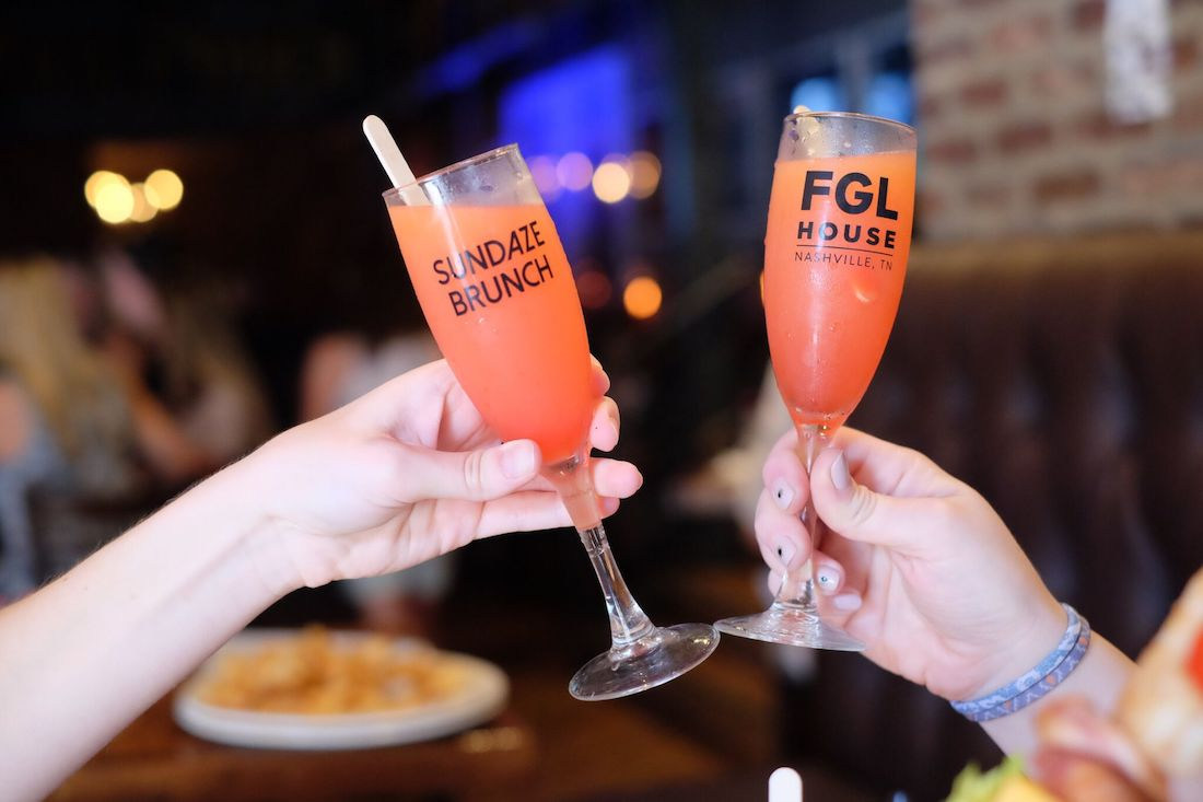 FGL House Sundaze Brunch glasses