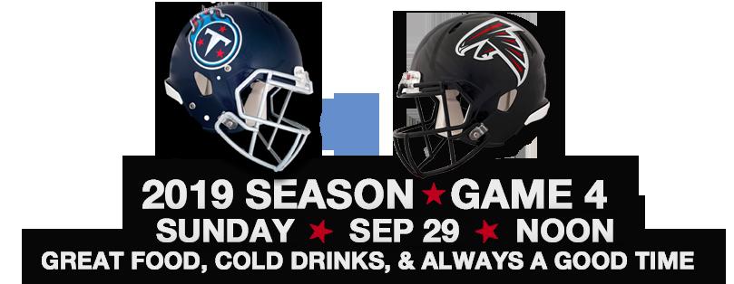 NFL Titans Versus Falcons